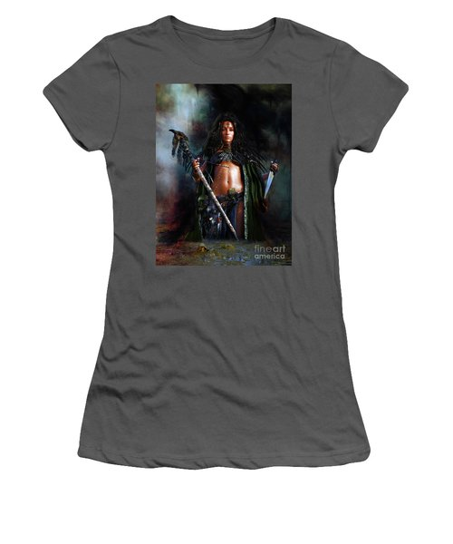 Swamp Witch Women's T-Shirt (Athletic Fit)