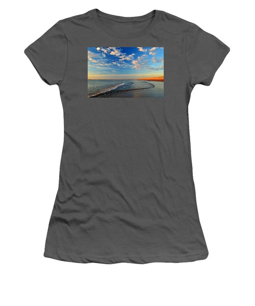 Sweeping Ocean View Women's T-Shirt (Athletic Fit)