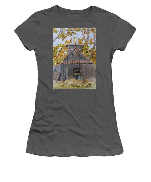 Sweet Old Vermont Women's T-Shirt (Junior Cut) by Jackie Mueller-Jones