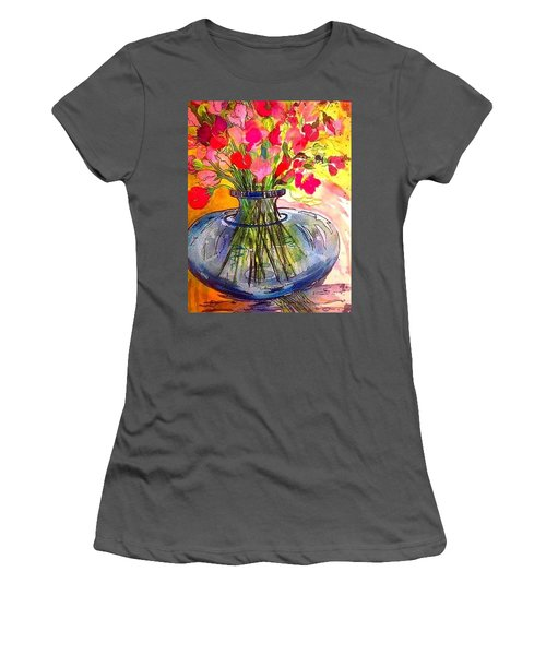 Sweet Peas Women's T-Shirt (Athletic Fit)