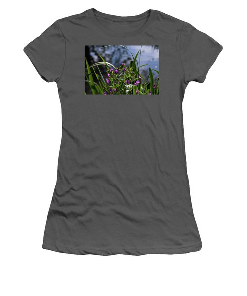 Sweet Violet Women's T-Shirt (Junior Cut)