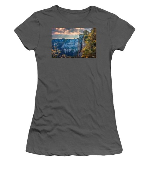 Swiss Grand Canyon Women's T-Shirt (Athletic Fit)