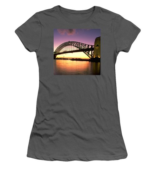 Sydney Harbour Bridge Women's T-Shirt (Junior Cut) by Travel Pics
