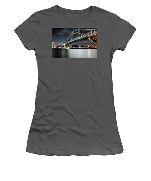 Sydney Harbour Lights Women's T-Shirt (Athletic Fit)