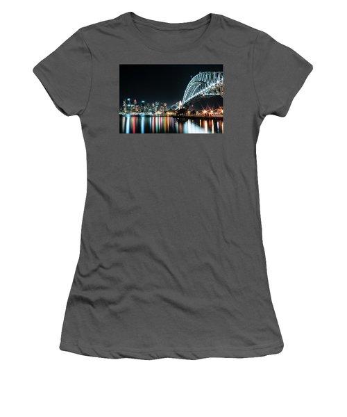 Sydney Harbour Sparkle Women's T-Shirt (Athletic Fit)