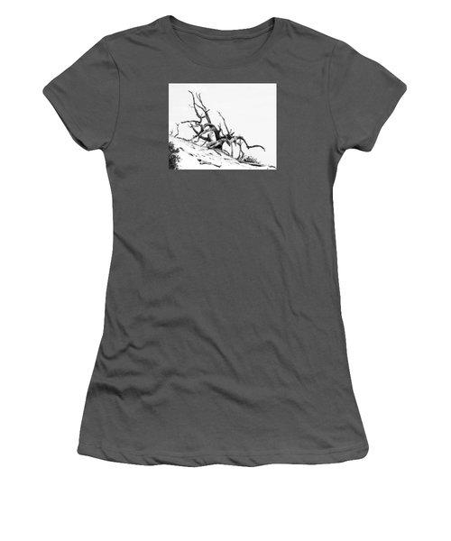 Tangled Women's T-Shirt (Junior Cut) by Alan Raasch