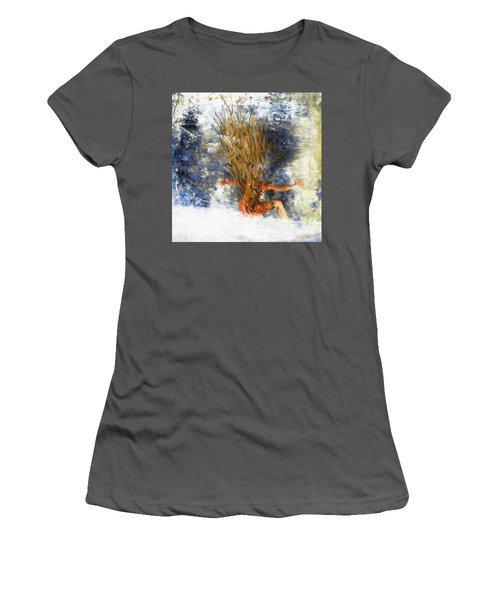Tatoo Bird Women's T-Shirt (Athletic Fit)