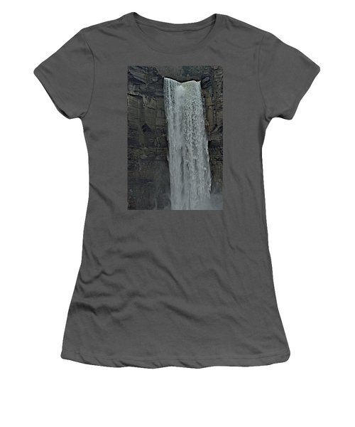 Taughannock Falls State Park Women's T-Shirt (Athletic Fit)