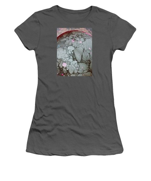 Tectonic With Sky Above And Below Women's T-Shirt (Junior Cut) by Cliff Spohn