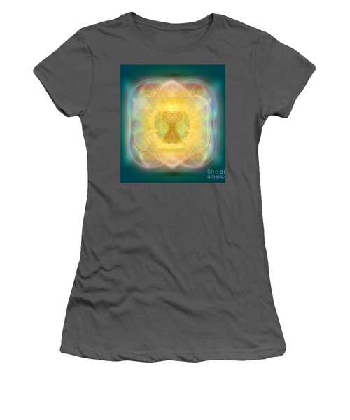 Temple Fire Chalice Women's T-Shirt (Athletic Fit)