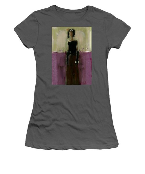 Temporary Wall Flower Women's T-Shirt (Junior Cut) by Jim Vance