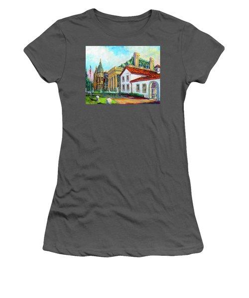 Terrace Villas Women's T-Shirt (Junior Cut) by Les Leffingwell