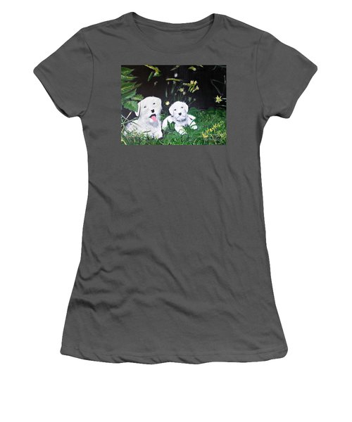 Terriers' Farm Pals. Women's T-Shirt (Junior Cut) by Francine Heykoop