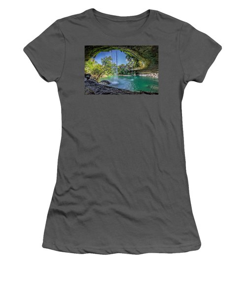 Texas Paradise Women's T-Shirt (Athletic Fit)