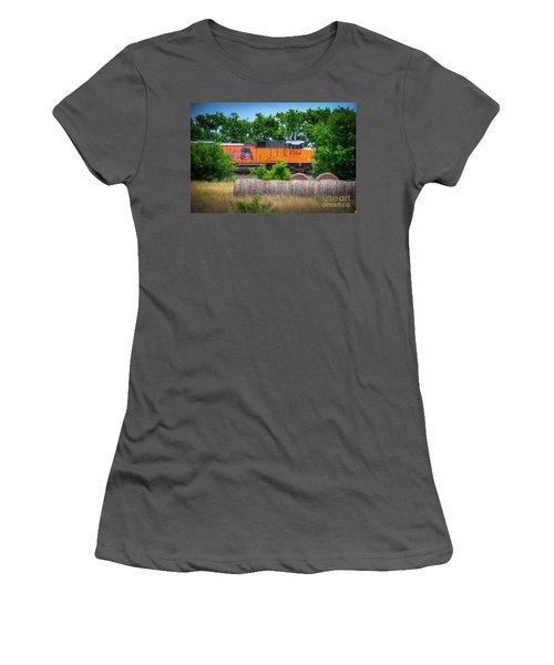 Texas Train Women's T-Shirt (Athletic Fit)