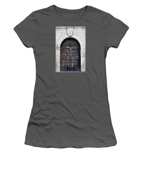 The Alamo Door Women's T-Shirt (Athletic Fit)