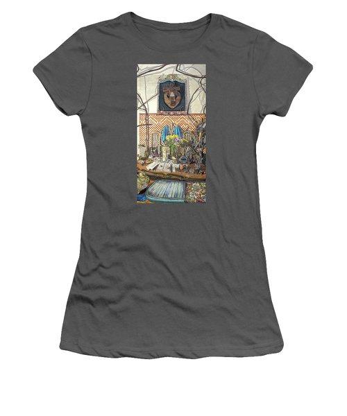 The Altar Women's T-Shirt (Junior Cut) by Bonnie Siracusa