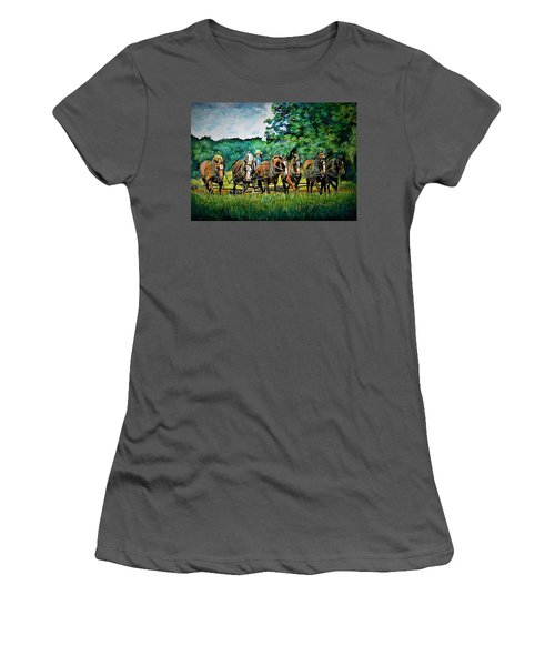 The Amish Team Women's T-Shirt (Athletic Fit)