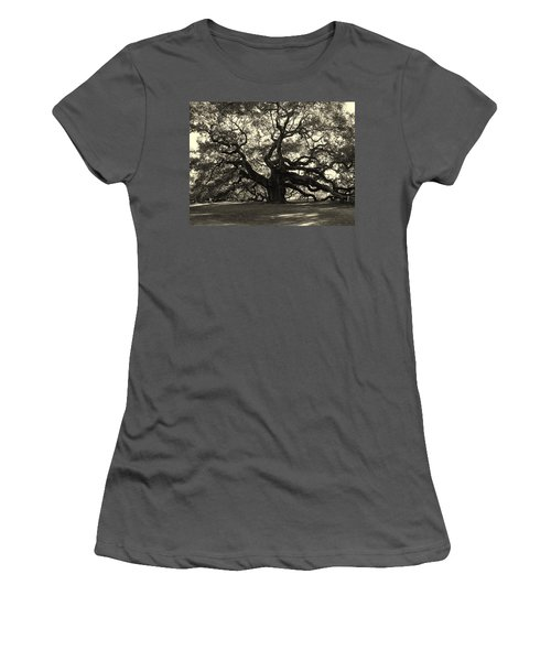 The Angel Oak Women's T-Shirt (Athletic Fit)
