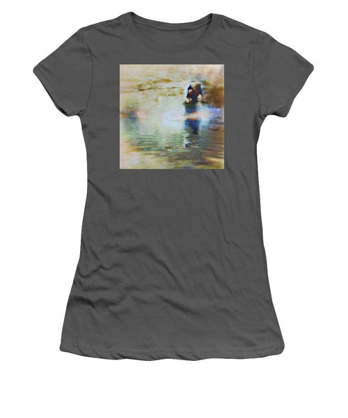The Artist As A Boy Women's T-Shirt (Athletic Fit)