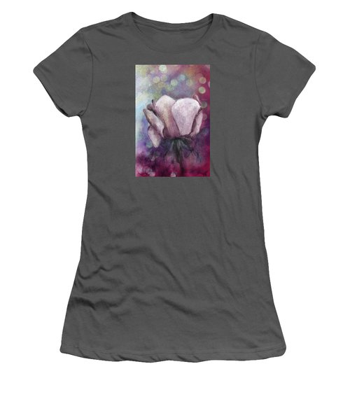 Women's T-Shirt (Junior Cut) featuring the painting The Award by Annette Berglund