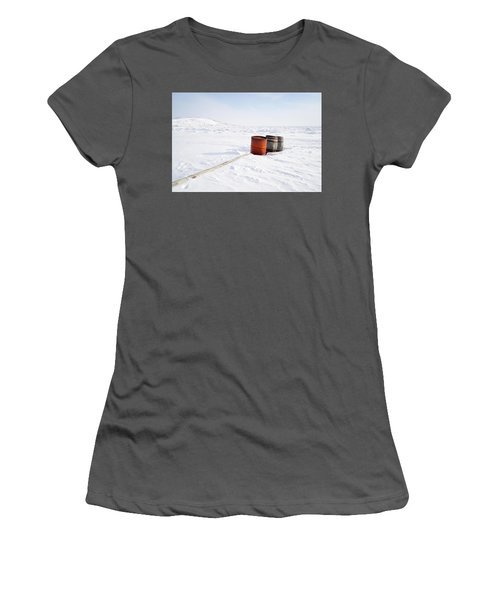 The Barrels Women's T-Shirt (Junior Cut) by Nick Mares