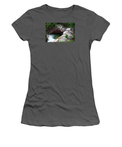 The Basin From Above Women's T-Shirt (Junior Cut) by Michael Hubley