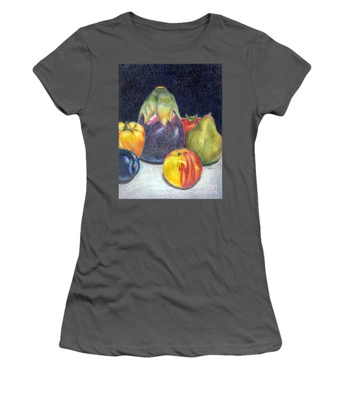 Women's T-Shirt (Junior Cut) featuring the drawing The Best Of Summer by Terry Taylor