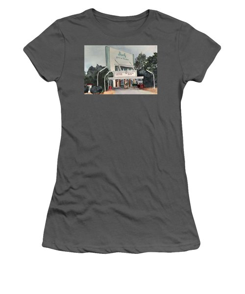 The Beverly Drive Inn Women's T-Shirt (Athletic Fit)