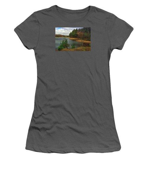 Women's T-Shirt (Junior Cut) featuring the photograph The Big Eau Plein by Judy  Johnson