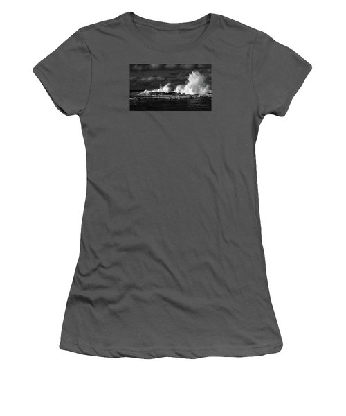Women's T-Shirt (Athletic Fit) featuring the photograph The Big One by Nareeta Martin