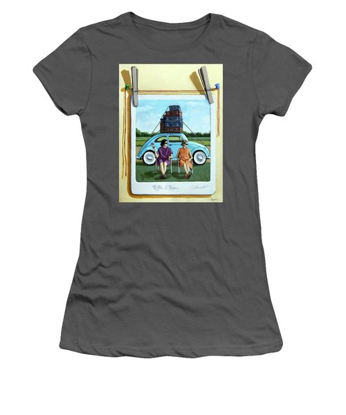 The Big Trip  Women's T-Shirt (Athletic Fit)