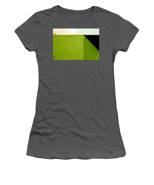 The Black Triangle Women's T-Shirt (Athletic Fit)