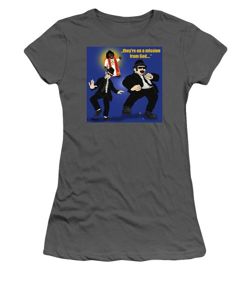 The Blues Brothers Women's T-Shirt (Athletic Fit)
