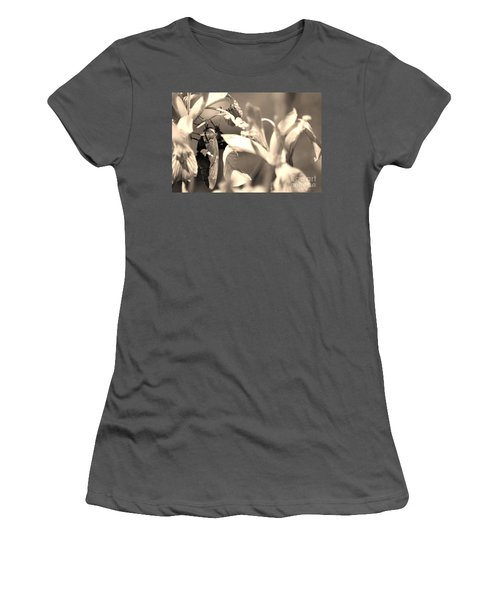 The Butterfly Women's T-Shirt (Athletic Fit)