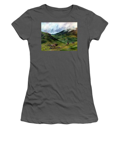 The Challenger Women's T-Shirt (Athletic Fit)