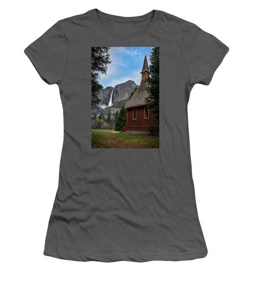 The Chapel Women's T-Shirt (Athletic Fit)