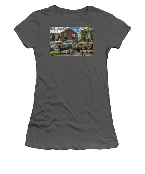 The Cheese Shop Women's T-Shirt (Junior Cut) by Jerry Gammon
