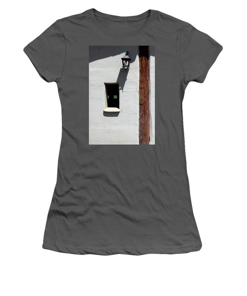 Women's T-Shirt (Junior Cut) featuring the photograph The Coach House by Kandy Hurley
