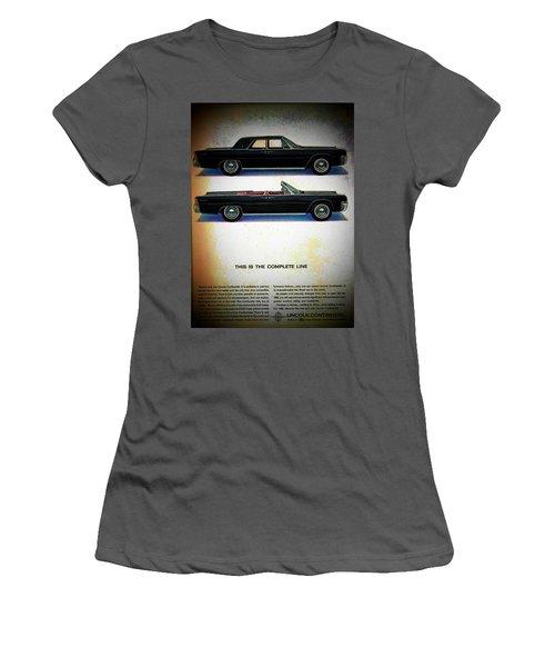 The Complete Line Women's T-Shirt (Junior Cut) by John Schneider