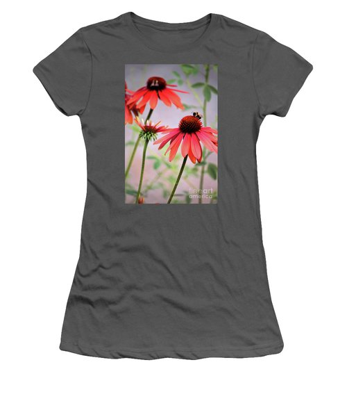 The Coneflower Collection Women's T-Shirt (Athletic Fit)