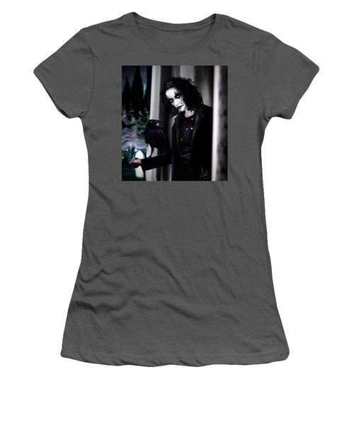 The Crow Women's T-Shirt (Athletic Fit)