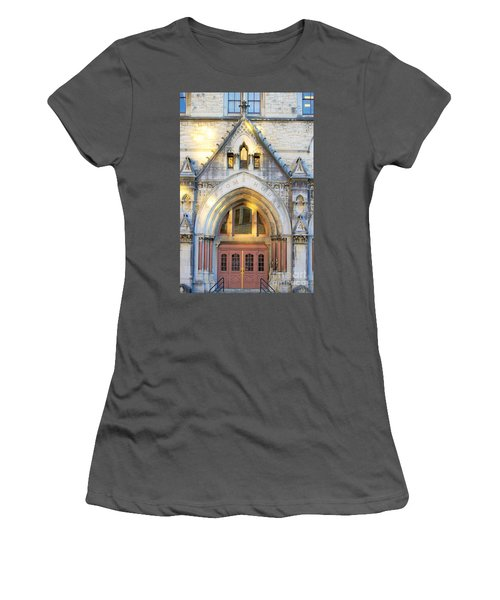 The Customs House Women's T-Shirt (Athletic Fit)