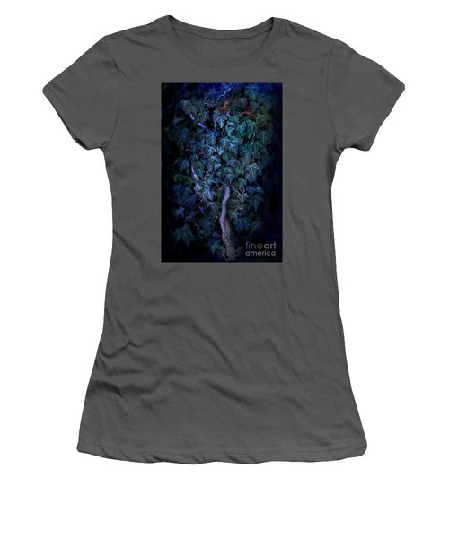 The Dark Side Women's T-Shirt (Athletic Fit)