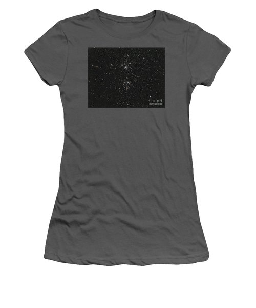 The Double Cluster Women's T-Shirt (Athletic Fit)