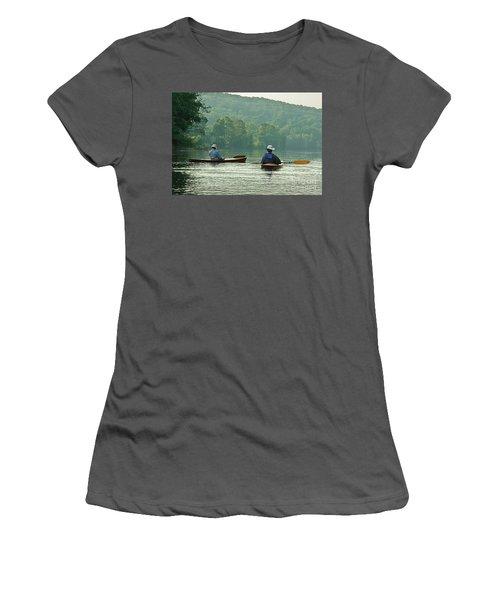 The Dreamers Women's T-Shirt (Junior Cut) by Tom Cameron