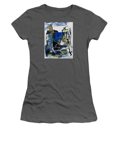 Women's T-Shirt (Junior Cut) featuring the painting The Elements by Betty Pieper