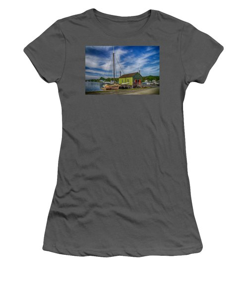 The Emma C. Berry, Mystic Seaport Museum Women's T-Shirt (Athletic Fit)
