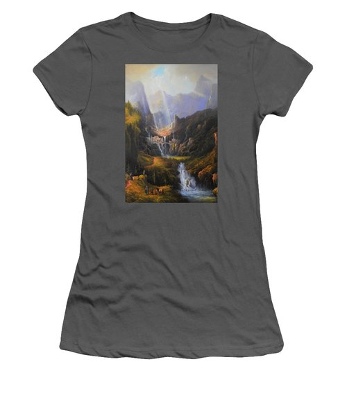 The Epic Journey Women's T-Shirt (Athletic Fit)