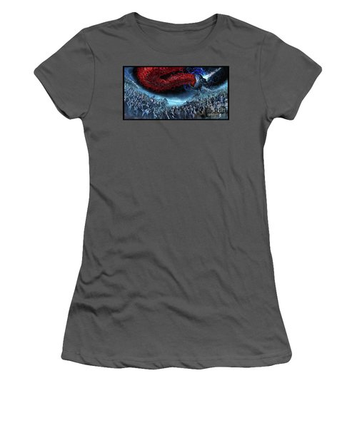 The Essence Of Time Matches No Flesh Women's T-Shirt (Athletic Fit)